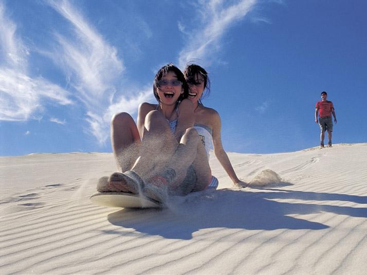 sand-boarding